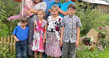 В Иркутской области подвели итоги конкурса «Лучшая семейная усадьба» среди многодетных семей